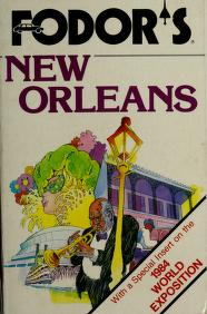 Cover of: FD New Orleans | Fodor's