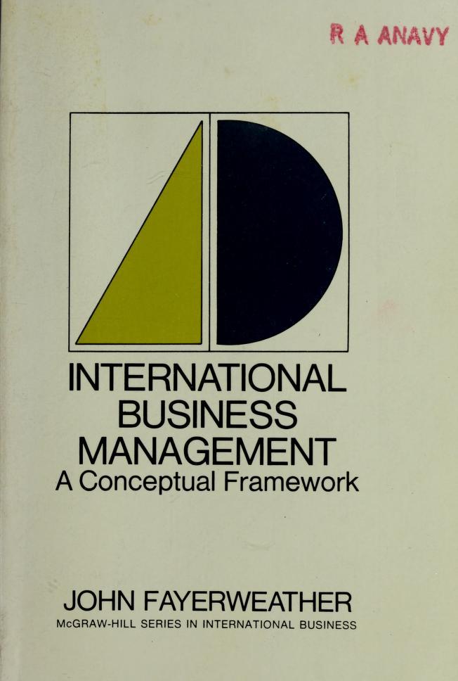 International business management by John Fayerweather