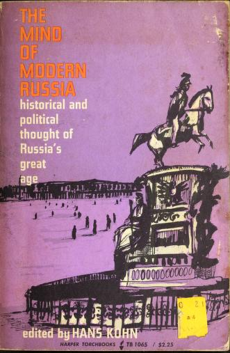 Cover of: The mind of modern Russia | Hans Kohn