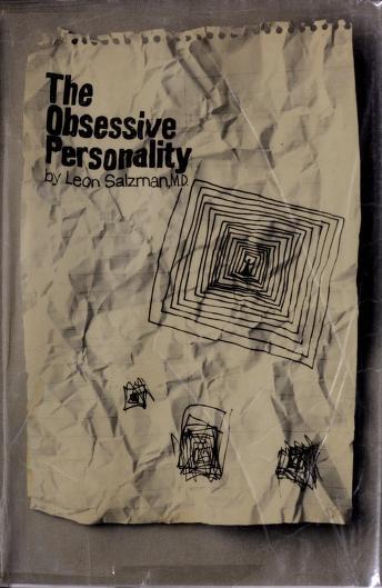 Cover of: The obsessive personality   Leon Salzman