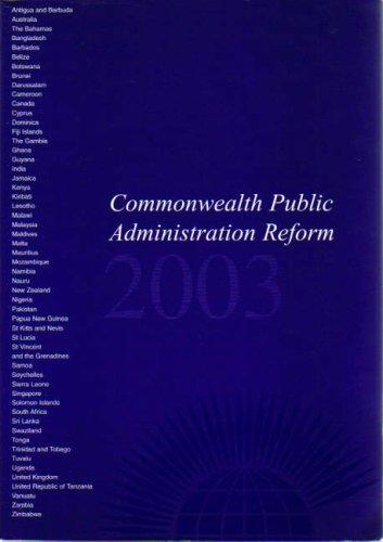 Commonwealth Public Administration Reform 2004 by Commonwealth Secretariat.