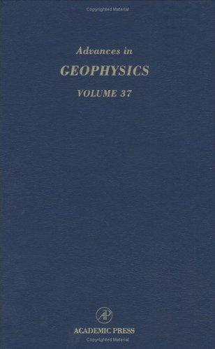 Advances in geophysics by