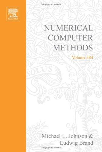 Numerical computer methods by