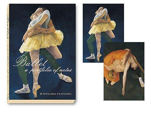 Ballet Notecard Portfolio by Stephen T. Johnson