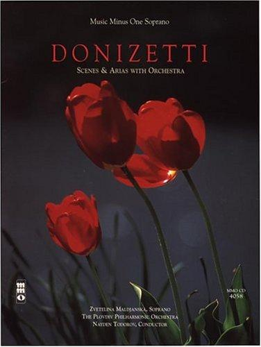 Music Minus One Soprano by Gaetano Donizetti