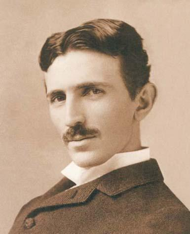 Photo of Nikola Tesla