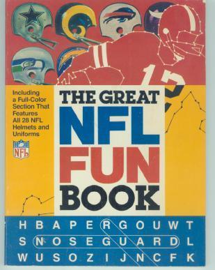 Great NFL Fun Book by Brondfield