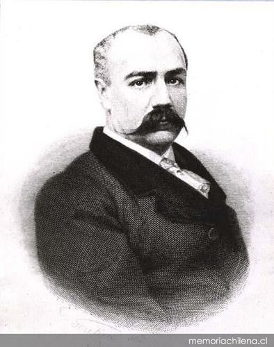 Photo of Benjamín Vicuña Mackenna