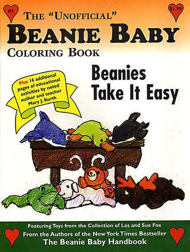 "The ""Unofficial"" Beanie Baby Coloring Book ""Cats Can Climb"" (The ""Unofficial"" Beanie Baby Coloring Book, Volume 2) by"
