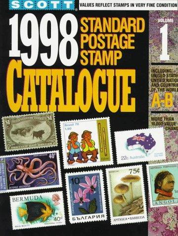 Scott 1998 Standard Postage Stamp Catalogue