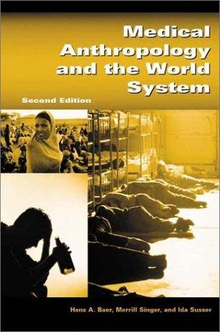 Medical anthropology and the world system by