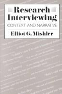 Research interviewing by Elliot George Mishler
