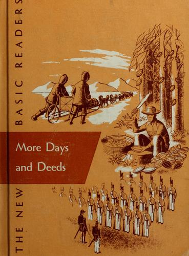 More days and deeds by Gray, William S.