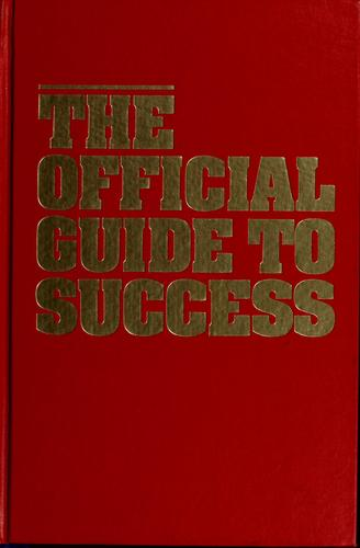 The official guide to success by Tom Hopkins