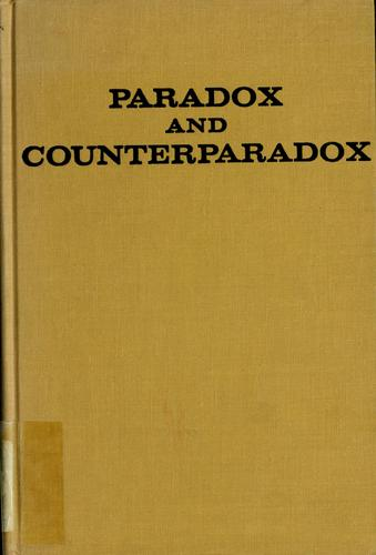 Paradox and counterparadox by Mara Selvini Palazzoli ... [et al.] ; translated by Elisabeth V. Burt.