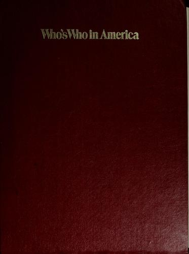 Who's who in America 1974-1975 by Marquis Who's Who, Inc