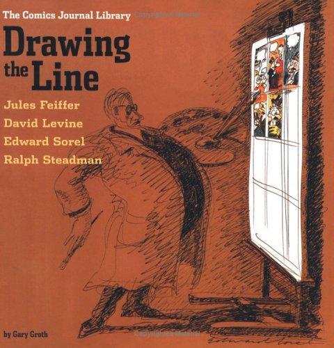 Drawing the line by Gary Groth
