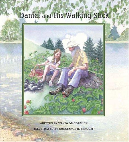Daniel and his walking stick by Wendy McCormick