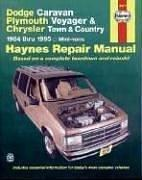 Dodge Caravan Plymouth Voyager & Chrysler Town & Country 1984 thru 1995 Mini-vans Haynes Repair Manual by John Harold Haynes