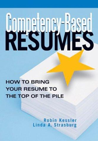 Competency-based resumes by