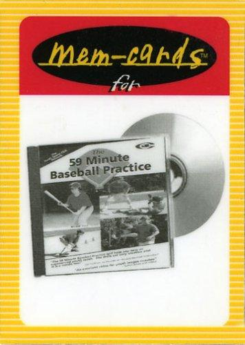 """The 59 Minute Baseball Practice""Mem-cards by Marty Schupak"