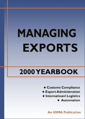 Managing Exports 2000 Yearbook by Chris Horner
