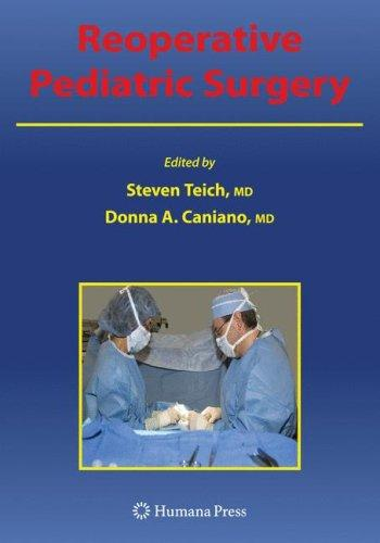 Reoperative pediatric surgery by