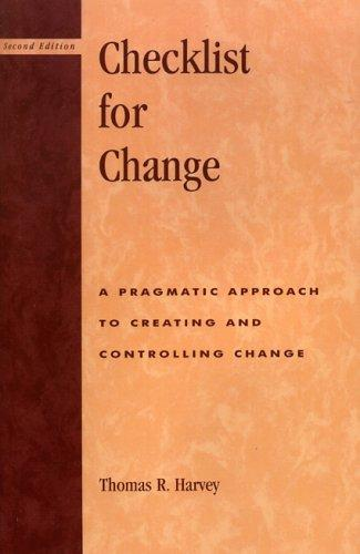 Checklist for Change (2nd Edition)