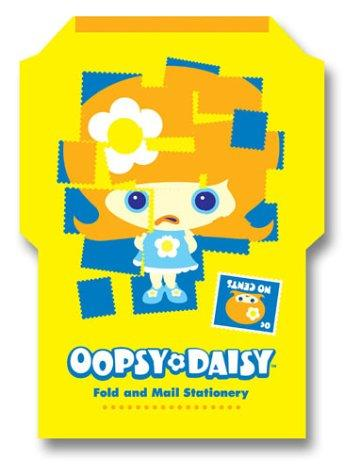 Oopsy Daisy Fold and Mail Stationery by Cosmic Debris.