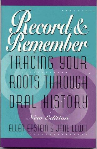 Record and remember by Ellen Robinson Epstein