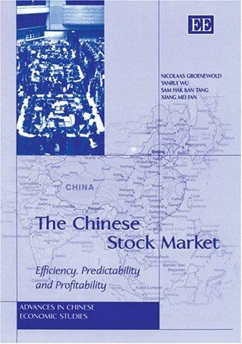 The Chinese Stock Market by Yanrui Wu