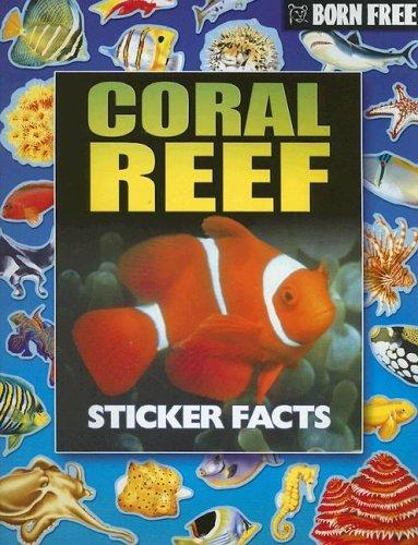 Born Free Coral Reef Sticker Facts with Sticker by Peter Eldin