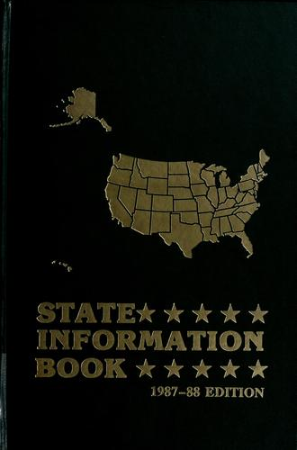 State information book by edited by Gerry Jones ; associate editor/database manager, Susan D. Hillenbrand ; assistant editor, Lucy W. Blanton.