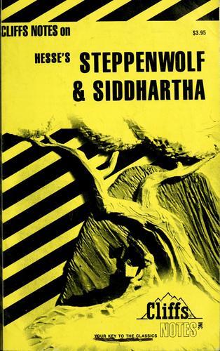 Steppenwolf & Siddhartha