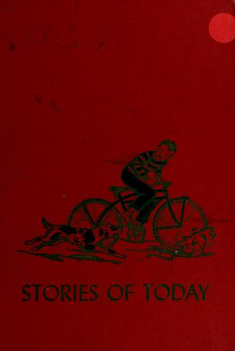 Stories of today by Marjorie Barrows
