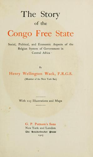 The story of the Congo Free State
