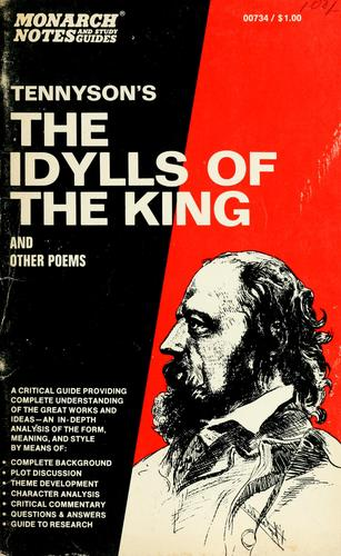 Tennyson's The Idylls of the king and other poems by David Madison Rogers
