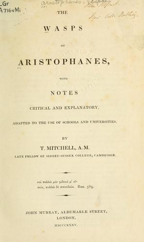 Wasps by Aristophanes