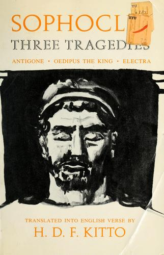 Three tragedies by Sophocles