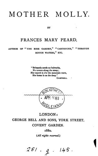 Mother Molly by Frances Mary Peard