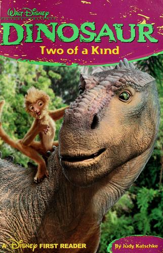 Dinosaur, two of a kind by Judy Katschke