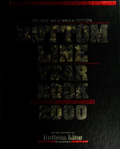 Bottom Line year book 2000 by Bottom Line Personal