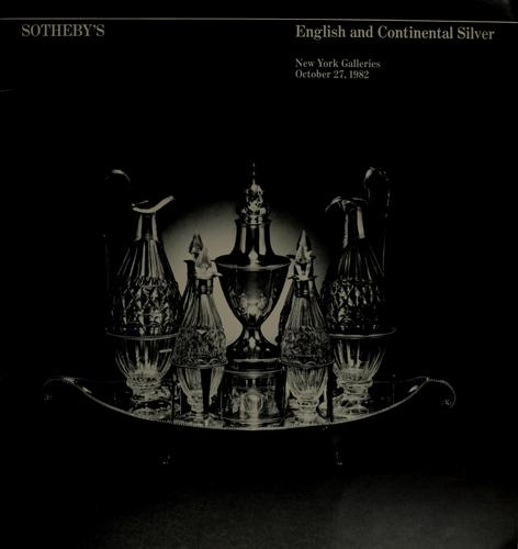 English and continental silver by William Heering