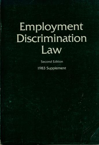 Employment discrimination law by