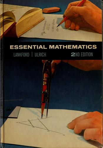 Essential mathematics by Francis Greenfield Lankford