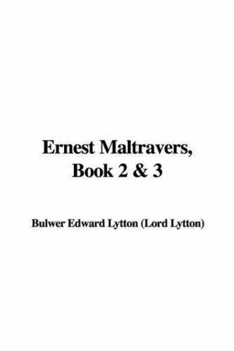 Ernest Maltravers, Book 2 & 3