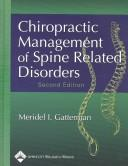 Chiropractic Management of Spine Related Disorders by Meridel I. Gatterman