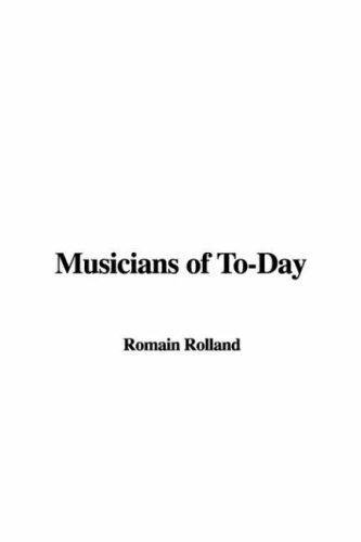 Musicians of To-Day