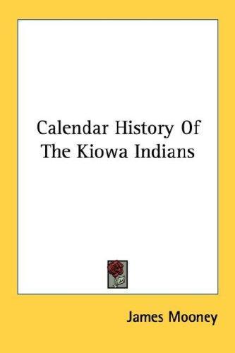 Calendar History Of The Kiowa Indians