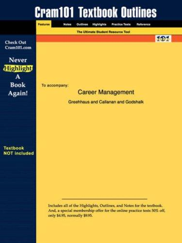 Career Management by Callanan